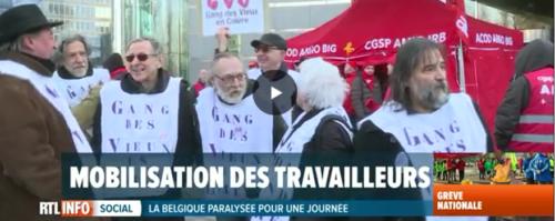 13 février 2019 Solidarité avec Belgacom