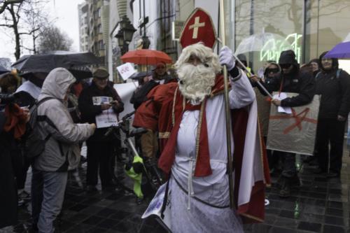 2019 12 06 - St Nicolas en Colère à Bruxelles