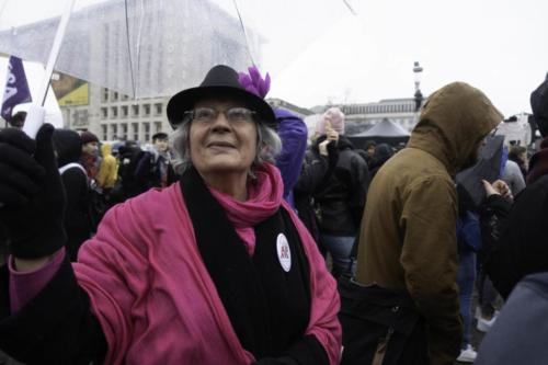 Manifestation Droit de la Femme