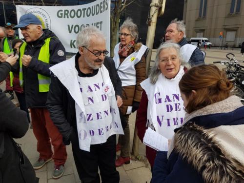 Marche avec les jeunes pour le climat le 21 02 2019