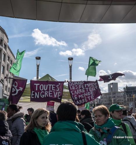 8 mars 2019 Journée Internationale de lutte pour les droits de la femme